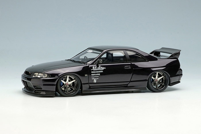 EIDOLON EM489E Garage Active ACTIVE R33 GT-R Wide body Concept Midnight Purple