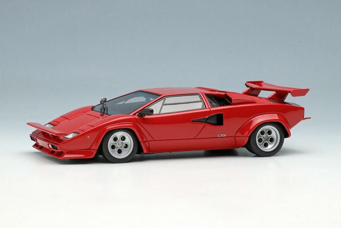 EIDOLON EM506A Lamborghini Countach LP400S U.S.Modification 1981 Red Limited 30pcs