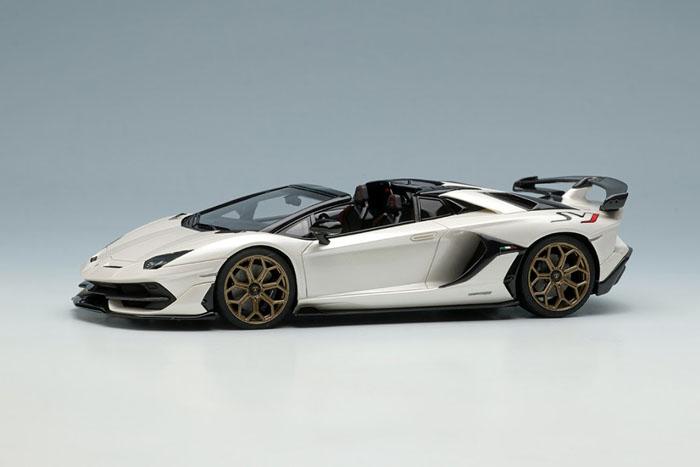 EIDOLON EM516B Lamborghini Aventador SVJ Roadster (Leirion wheel) Pearl Whtie Limited 80pcs