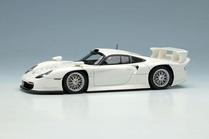 EIDOLON EM554B Porsche 911GT1 EVO Street version 1997 White