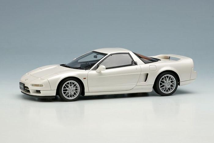 EIDOLON EM583C Honda NSX type S (NA2) 1997 Platinum White Pearl Limited 50pcs