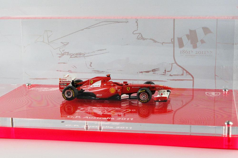 BBR EX35 Ferrari 150 Italia Australia GP 2011 F.Alonso Limited 100pcs