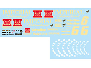 F'artefice Decal FE-0061 1/20 Lotus 78 IMPERIAL Decal for Tamiya 【メール便可】