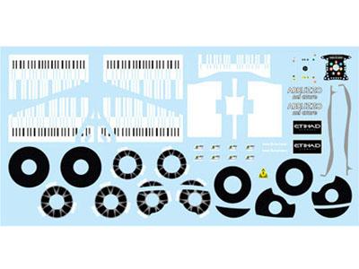 F'artefice Decal FM-0089 1/20 Ferrari F60 Extra Decal for Tamiya