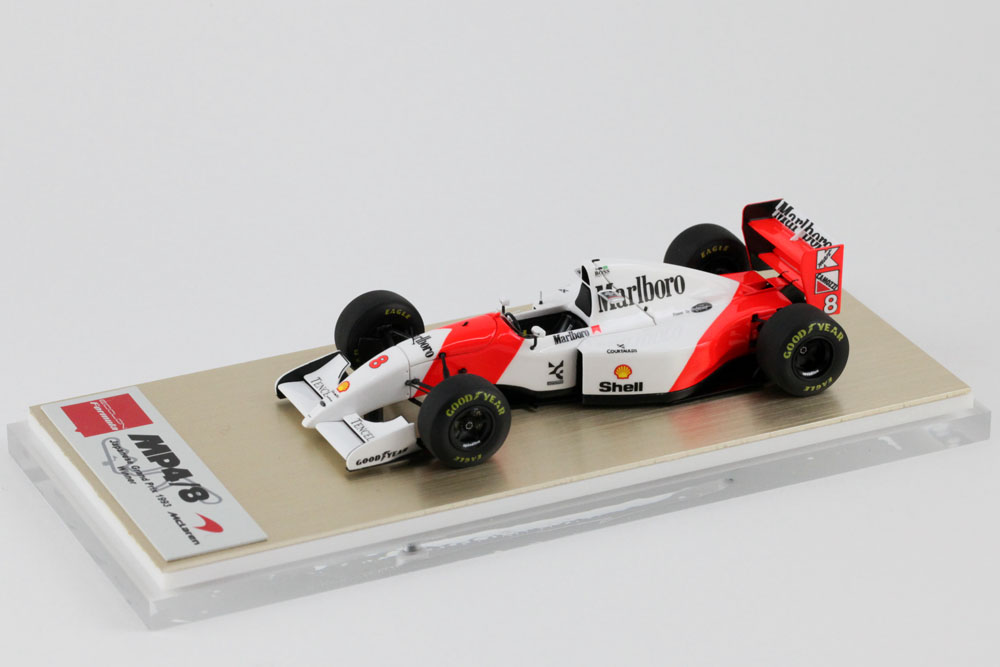 EIDOLON FE028A McLaren Ford MP4/8 日本GP 1993 Winner No.8 A.Senna
