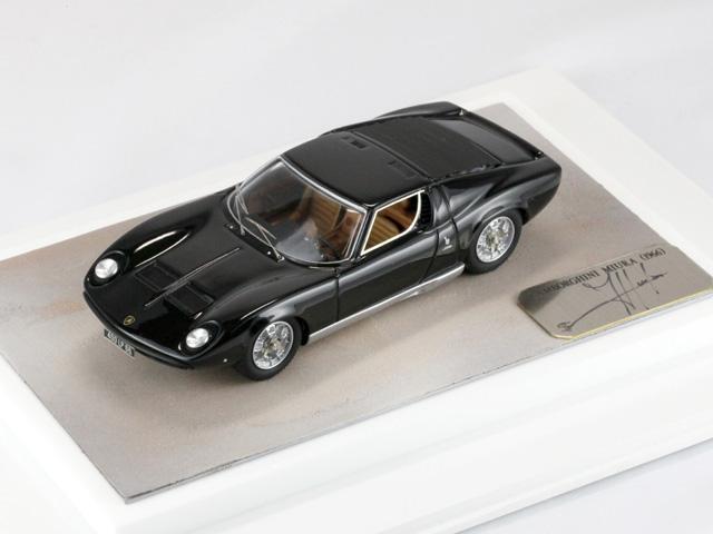 Suber Factory ランボルギーニ ミウラ S 1969 ブラック 1/43完成品