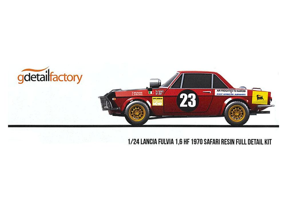 ** 再入荷待ち ** G detail factory 1/24キット Lancia Fulvia 1.6 HF 1970 Safari