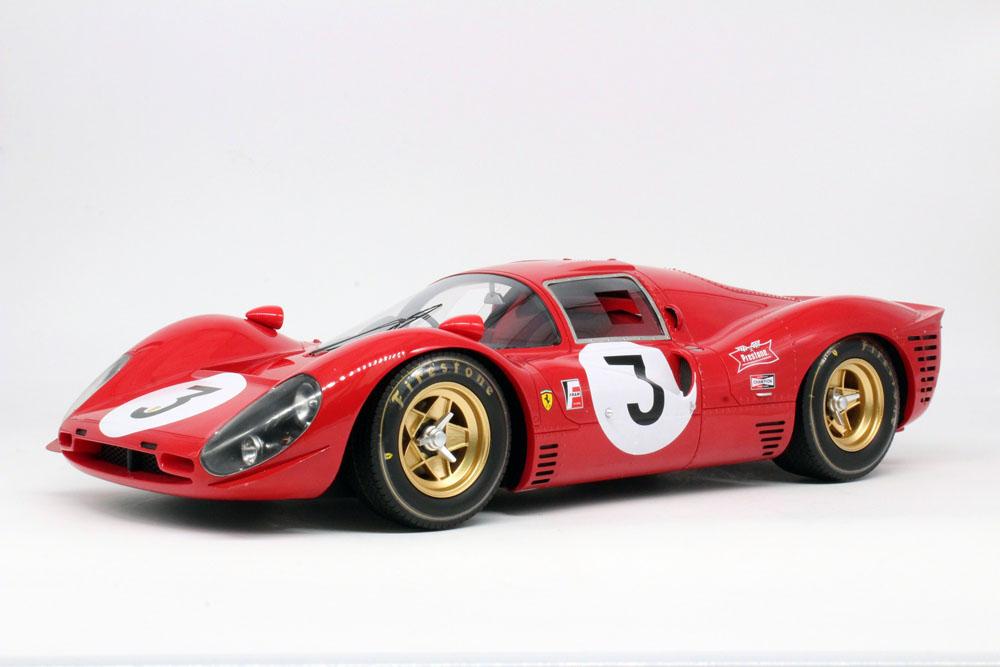 TOPMARQUES /GP replicas GP12-09A 1/12 フェラーリ 330P4 1000km Monza Winner 1967 No.3