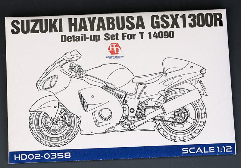Hobby Design HD02_0358 1/12 スズキ Hayabusa GSX 1300R ディテールアップセット for Tamiya