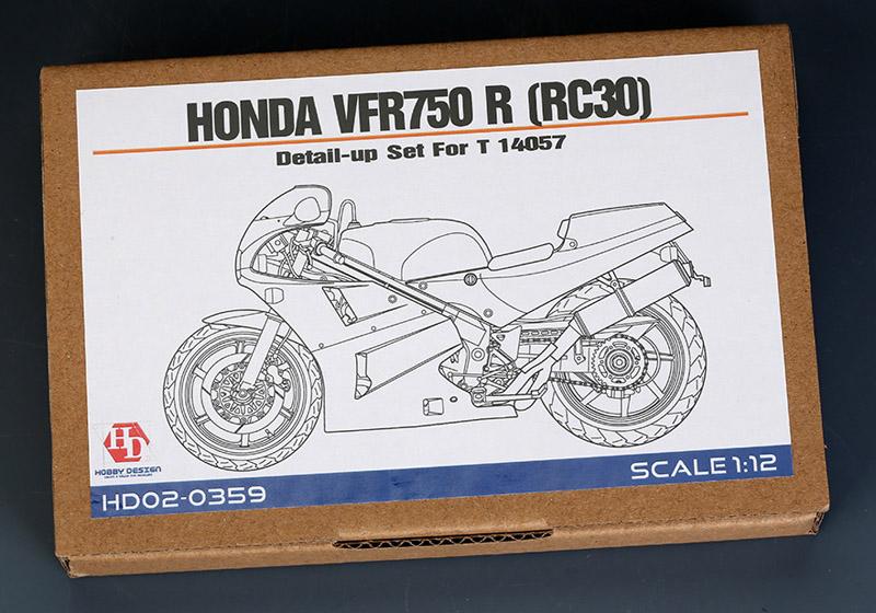Hobby Design HD02_0359 1/12 ホンダ VFR750R (RC30) ディテールアップセット for Tamiya