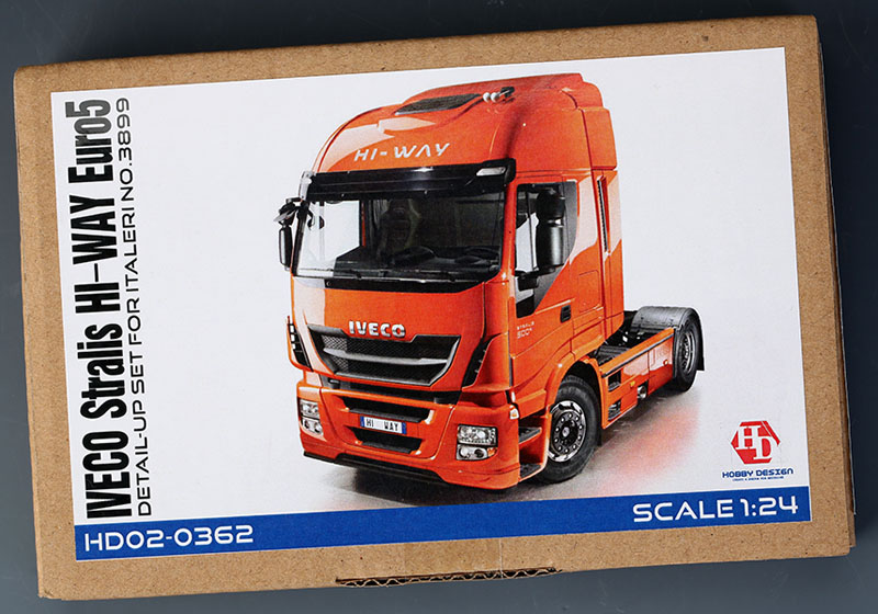 Hobby Design HD02_0362 1/24 IVECO Stralis Hi-Way Euro5 ディテールアップセット for italeri