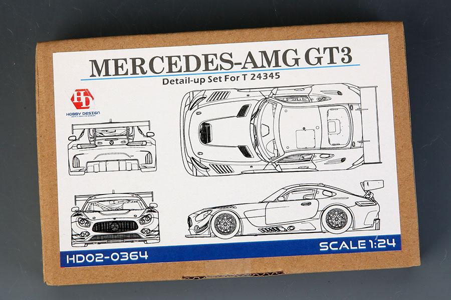 Hobby Design HD02_0364 1/24 メルセデス AMG GT3 ディテールアップセット for Tamiya