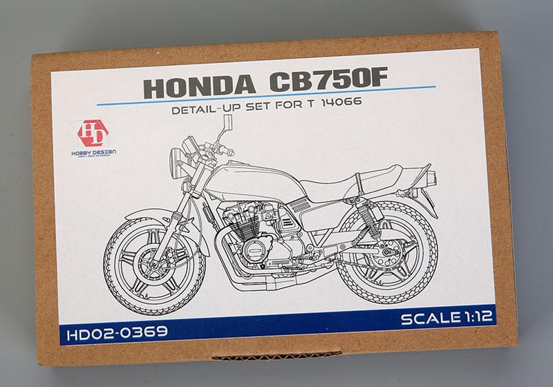 Hobby Design HD02_0369 1/24 ホンダ CB750F ディテールアップセット for Tamiya