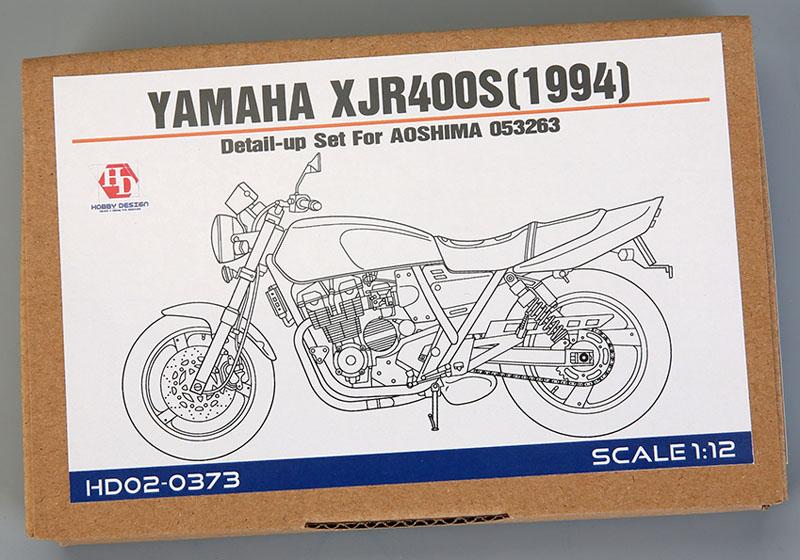 Hobby Design HD02_0373 1/12 Yamaha XJR400S 1994 Detail up set for Aoshima