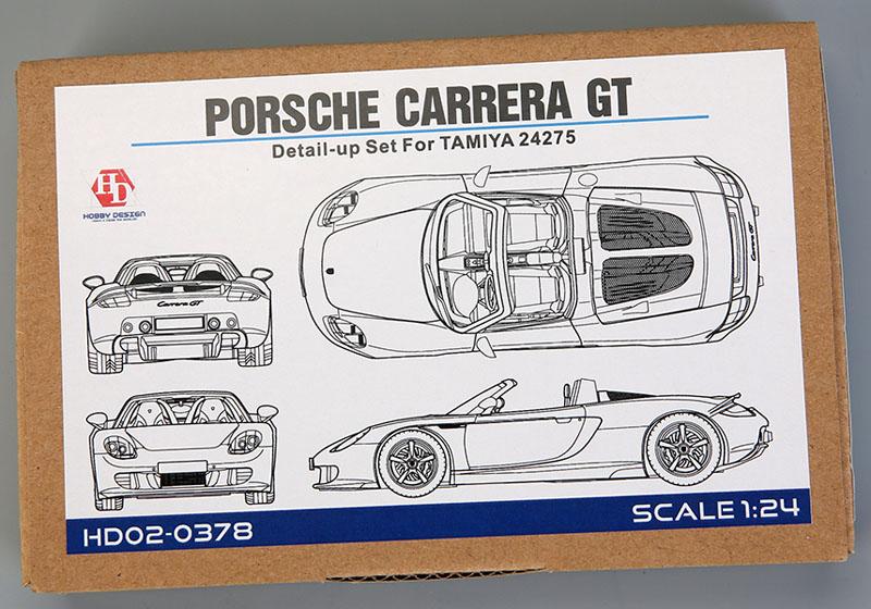 Hobby Design HD02_0378 1/24 Porsche Carrera GT Detail up set for Tamiya