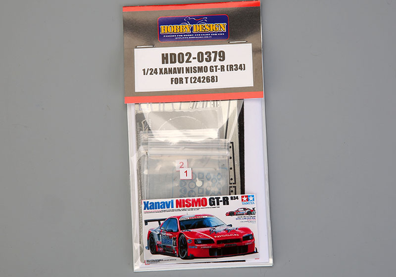 Hobby Design HD02_0379 1/24 Xanavi Nismo GT-R (R34) Detail up set for Tamiya