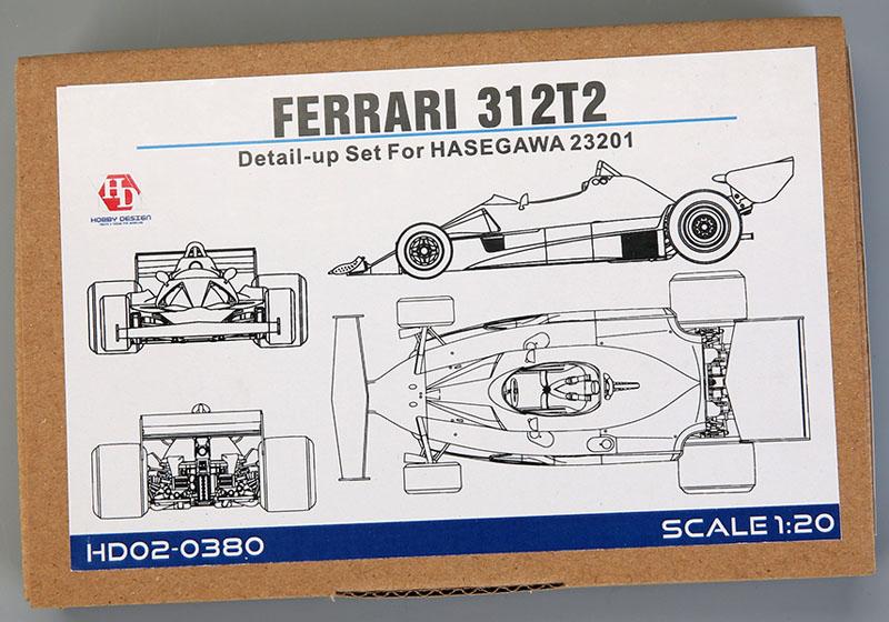 Hobby Design HD02_0380 1/20 Ferrari 312T2 Detail up set for Hasegawa