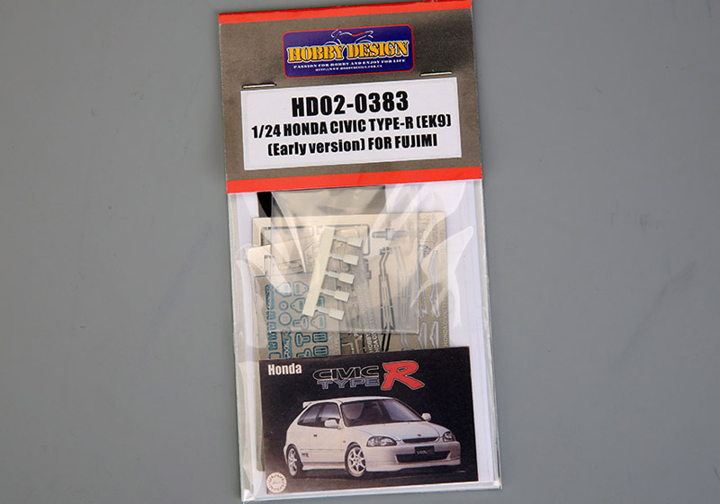 Hobby Design HD02_0383 1/24 Honda Civic Type-R Detail up set for Fujimi (039985)