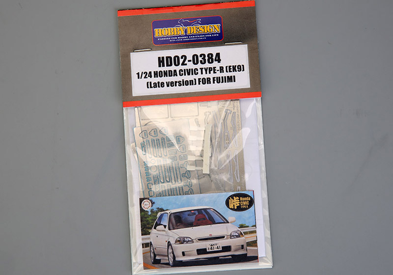Hobby Design HD02_0384 1/24 Honda Civic Type-R Detail up set for Fujimi (046013)