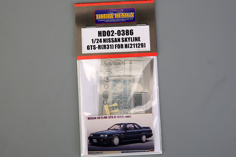 Hobby Design HD02_0386 1/24 Nissan Skyline GTS-R (R31) Detail up set for Hasegawa (21129)