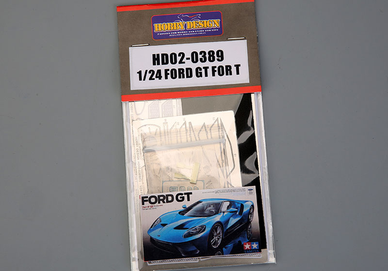 Hobby Design HD02_0389 1/24 Ford GT Detail up set for Tamiya