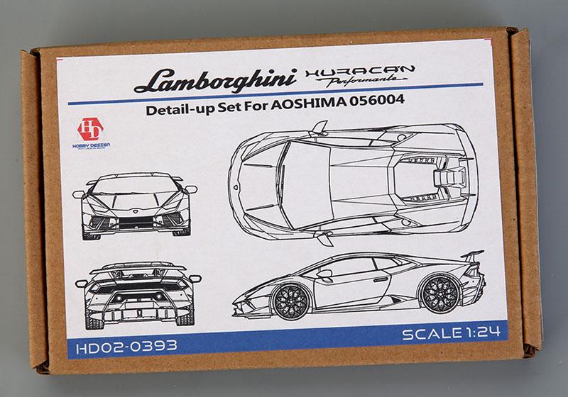 Hobby Design HD02_0393 1/24 Lamborghini Huracan Performante Detail up set for Aoshima