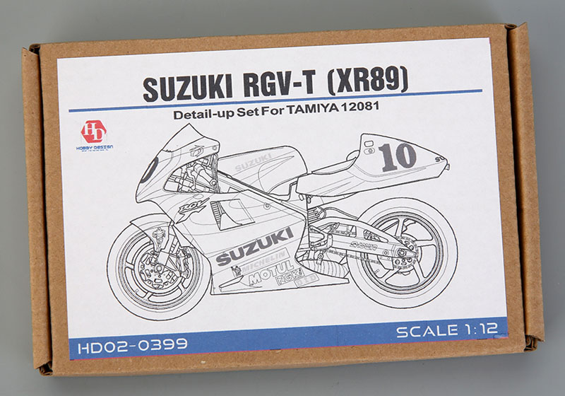 Hobby Design HD02_0399 1/12 Suzuki RGV-T(XR89) Detail up set for Tamiya
