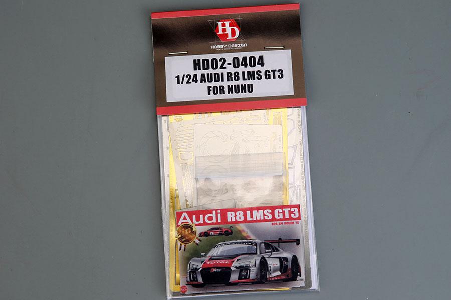 Hobby Design HD02_0404 1/24 Audi R8 LMS GT3 Detail up set For NUNU