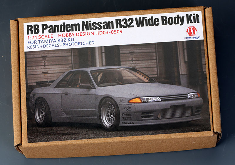hobby design hd03 0509 1 24 rb pandem ニッサン r32 wide body kit