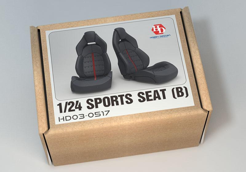 Hobby Design HD03_0517 1/24 Sports seats (B)