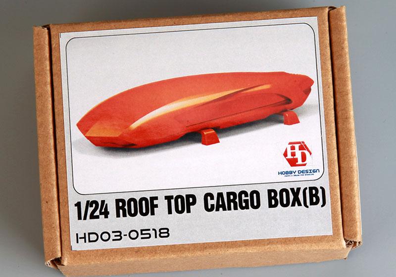 Hobby Design HD03_0518 1/24 Roof Top Cargo Box (B)