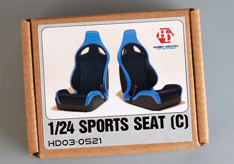 Hobby Design HD03_0521 1/24 Sports seats (C)