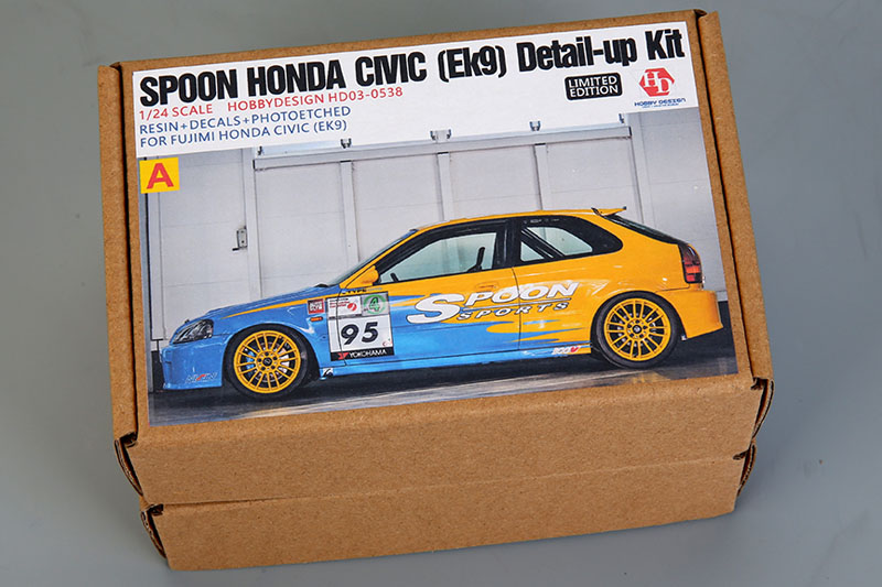 Hobby Design HD03_0538 1/24 Spoon Honda Civic (EK9) Ditail up Kit For Fujimi