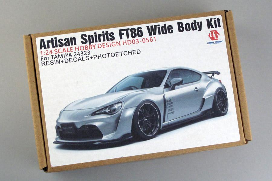 Hobby Design HD03_0561 1/24 Artisan Spirits FT86 Wide Body Kit For Tamiya