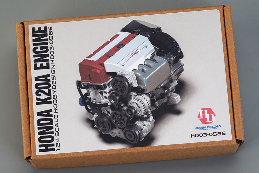 Hobby Design HD03_0586 1/24 Honda K20a Engine Detail Set