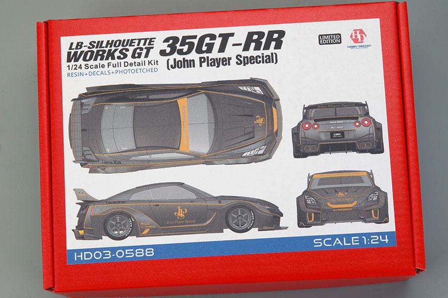 Hobby Design HD03_0588 1/24 LB-Silhouette Works GT 35GT-RR (John Player Special) Kit