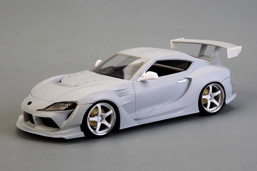 Hobby Design HD03_0591 1/24 Varis Supreme GR Supra A90 Kit