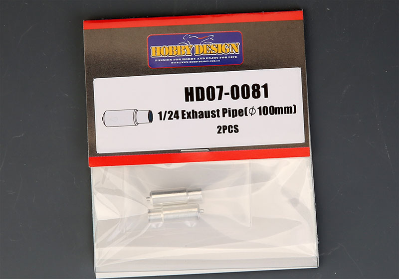 Hobby Design HD07_0081 1/24 Exhaust pipe
