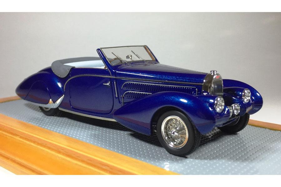 【お取り寄せ商品】 Ilario 1/43完成品 IL43109 Bugatti T57C Aravis Gangloff 1938 sn57710 Original Car