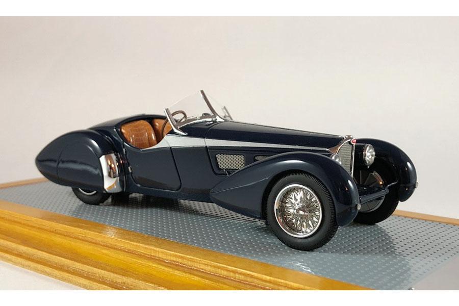 Ilario 1/43完成品 IL43111 Bugatti T57SC Roadster Corsica 1938 sn57593 Current Car