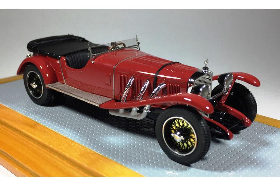 【お取り寄せ商品】 Ilario 1/43完成品 IL43112 Mercedes-benz 680 S Rensport Sindelfingen 1927 sn35218