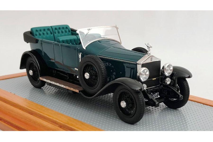 【お取り寄せ商品】 Ilario 1/43完成品 IL43121 Rolls Royce Silver Ghost Torpedo Tourer Million Guiet 1924 sn2AU Ettore Bugatti's Personnal Car