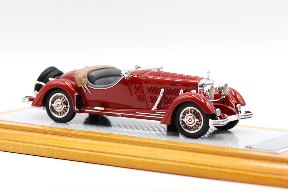 【お取り寄せ商品】 Ilario 1/43完成品 IL43134 Mercedes-Benz 500K Roadster 1934 Sindelfingen sn105351 Original Car Limited 75pcs