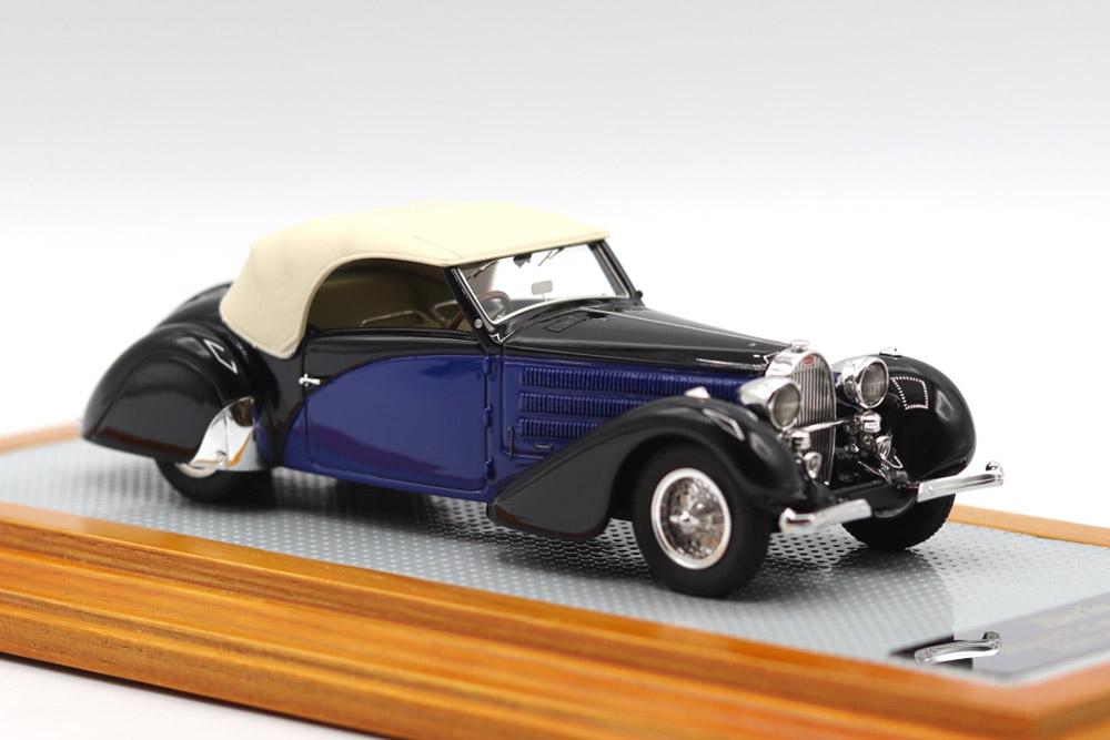 Ilario 1/43完成品 IL43137 Bugatti Type 57 Cabriolet Stelvio Serie 2 1935 sn57362 Restoration Car Limited 75pcs