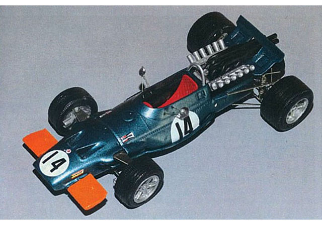 Jade Miniatures J4384 1/43 BRM P139 1969 Flat Nose