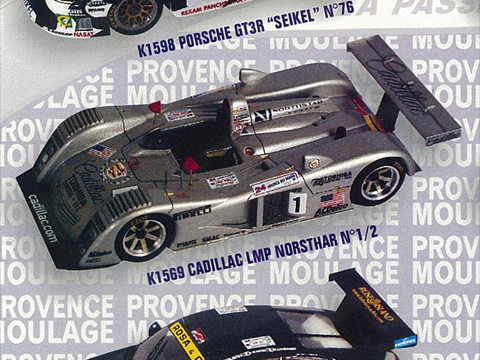 PROVENCE K1569 キャデラック LMP Northstar n.1/n.2 LM 2000