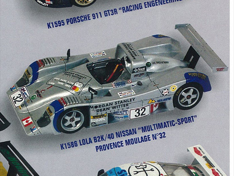 PROVENCE K1586 ローラ B2K/40 NISSAN MULTIMATIC-MOTORSPORT n.32 LM 2000
