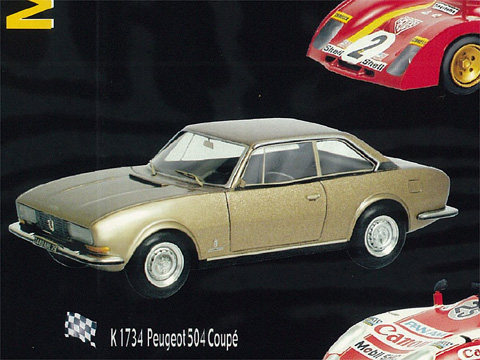 PROVENCE K1734 プジョー 504 Coupe