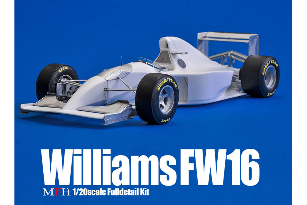 HIRO K731 1/20 Williams FW16 San Marino GP 1994