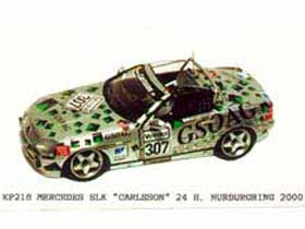 JPS KP218 メルセデス SLK Carlsson Nurb. 2000 ペイントなしキット